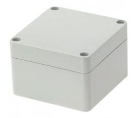 Boîtier plastique 80 x 82 x 55 mm gris clair PC IP 65