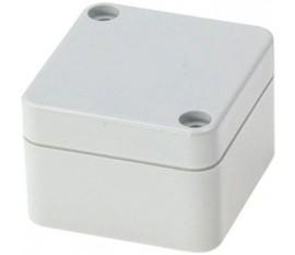 Boîtier plastique 50 x 52 x 35 mm gris clair PC IP 65