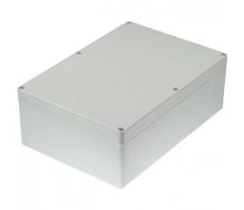 Boîtier plastique 185 x 265 x 95 mm gris clair PC IP 65