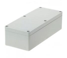 Boîtier plastique 80 x 195 x 55 mm gris clair PC IP 65