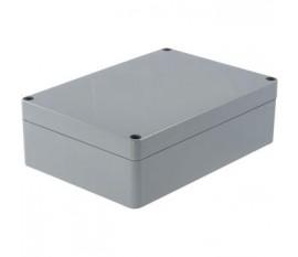 Boîtier plastique 121 x 171 x 55 mm gris foncé ABS IP 65