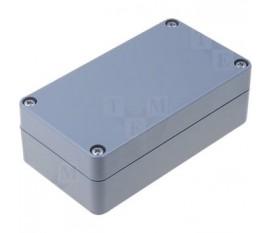 Boîtier plastique 65 x 115 x 40 mm gris foncé ABS IP 65