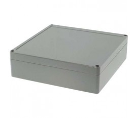Boîtier plastique 190 x 190 x 55 mm gris foncé ABS IP 65