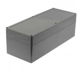 Boîtier plastique 140 x 353 x 121.5 mm gris foncé ABS IP 65