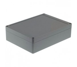 Boîtier plastique 150 x 200 x 55 mm gris foncé ABS IP 65