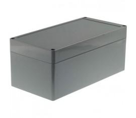 Boîtier plastique 120 x 240 x 100 mm gris foncé ABS IP 65