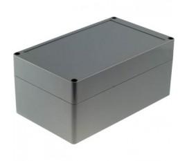 Boîtier plastique 120 x 200 x 90 mm gris foncé ABS IP 65