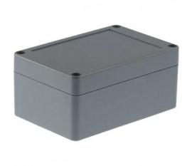 Boîtier plastique 80 x 120 x 55 mm gris foncé ABS IP 65