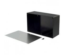 Desktop enclosure noir 217 x 138 x 82.2 mm ABS
