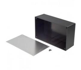 Desktop enclosure noir 189 x 113 x 63.9 mm ABS