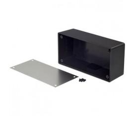Desktop enclosure noir 129 x 64 x 41.9 mm ABS