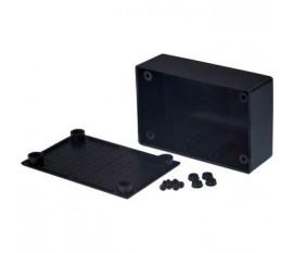 Boîtier plastique 53.8 x 82.7 x 30.5 mm noir ABS