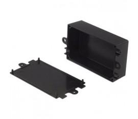 Boîtier plastique 57 x 82 x 33 mm noir ABS