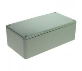 Boîtier plastique 80 x 150 x 50 mm gris ABS, grande résistance aux chocs IP 54