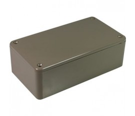 Boîtier plastique 65 x 120 x 40 mm gris ABS, grande résistance aux chocs IP 54