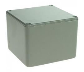 Boîtier plastique 55 x 55 x 42 mm gris ABS, grande résistance aux chocs IP 54