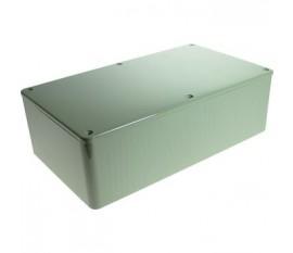 Boîtier plastique 110 x 190 x 60 mm gris ABS, grande résistance aux chocs IP 54