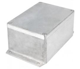 Boîtier métallique, Aluminium, 108 x 148 x 75 mm, Alliage d'aluminium / ADC12, IP 65