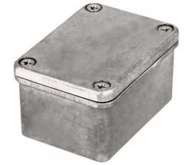 Boîtier métallique, gris clair, 41 x 56 x 31 mm, Alliage d'aluminium / ADC12, IP 65