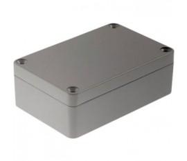 Boîtier métallique, gris clair, 64 x 98 x 34 mm, Alliage d'aluminium / ADC12, IP 65