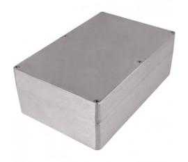 Boîtier métallique, gris clair, 146 x 222 x 82 mm, Alliage d'aluminium / ADC12, IP 65