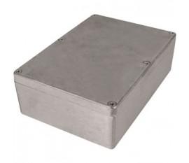Boîtier métallique, gris clair, 121 x 171 x 55 mm, Alliage d'aluminium / ADC12, IP 65