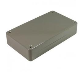 Boîtier plastique 82 x 144 x 30 mm gris ABS, grande résistance aux chocs IP 54