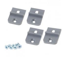 Support de montage ABS gris clair