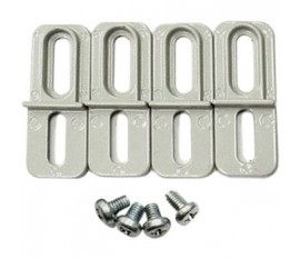 Support de montage Alliage d'aluminium / ADC12 gris