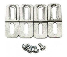 Support de montage Alliage d'aluminium / ADC12 Aluminium