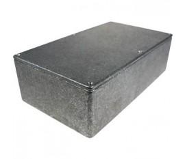 Boîtier métallique, gris, 112 x 192 x 61 mm, Fonte d'aluminium, IP 54