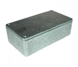 Boîtier métallique, gris, 66 x 120 x 40 mm, Fonte d'aluminium, IP 54