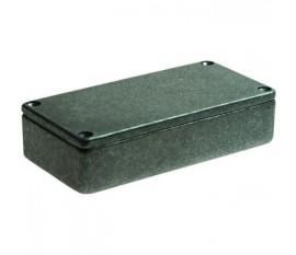 Boîtier métallique, gris, 50 x 101 x 26 mm, Fonte d'aluminium, IP 54