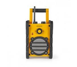 Radio FM Portable, Radio FM/AM, 3 W, Jaune/Noir