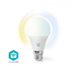 Ampoule LED Intelligente Wi-Fi | Blanc Chaud à Blanc Froid | B22