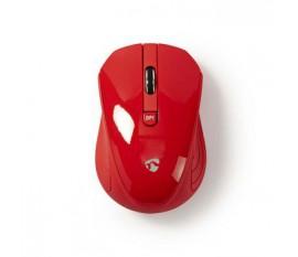 Souris sans fil | 1 000 ppp | 3 boutons | Rouge