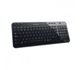 Clavier sans fil Bureau USB 2.0 US International Noir