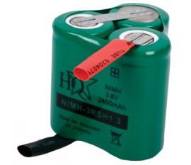 Batterie Rechargeable NiMH Pack 3.6 V 2400 mAh 1-Pack