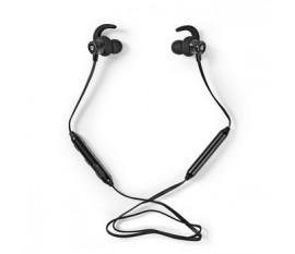 Écouteurs pour le Sport | Bluetooth | Intra-auriculaires | Cordon Flexible | Noirs