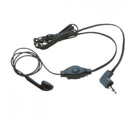Ecouteurs audio Dans l'oreille 2.5 mm 2.5 mm Microphone intégré 1.42 m Noir