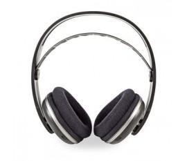 Casque sans Fil | Fréquence radio (RF) | Tour d'oreille | Embase de Chargement | Noir/Argent