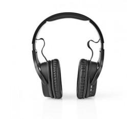 Casque d'écoute sans fil | DAB+ / FM / Bluetooth® | Arceau | Pliable | Étui de transport | Noir