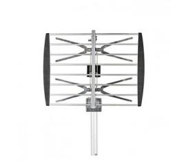 Antenne TV d'Extérieur | Gain Max. de 8 dB | UHF : 470 - 790 MHz