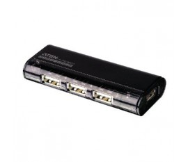 4-Port USB2.0 HUB Noir