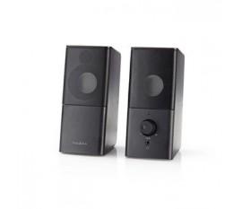 Haut-parleurs de jeu | 2.0 | Alimentation par USB | prise 3,5 mm | RMS 6 W