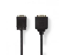 Câble VGA | VGA Mâle - 2x VGA Femelle | 0,2 m | Noir