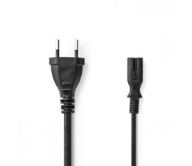 Câble d'Alimentation | Prise Suisse - CEI-320-C7 | 5,0 m | Noir
