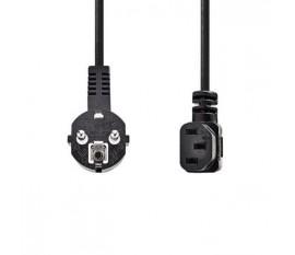 Câble d'Alimentation | Schuko Mâle | CEI-320-C13 | 2,0 m | Noir