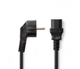 Câble d'Alimentation | Schuko Mâle | CEI-320-C13 | 5,0 m | Noir