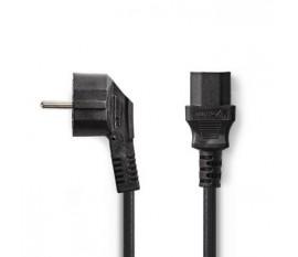 Câble d'Alimentation | Schuko Mâle - CEI-320-C13 | 1,8 m | Noir